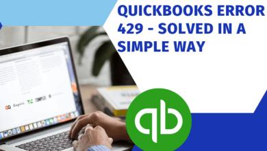 Quickbooks Error 429 Solved in simple way