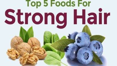 What are the 5 foods to prevent hair loss