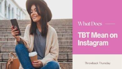 What Does TBT Mean on Instagram