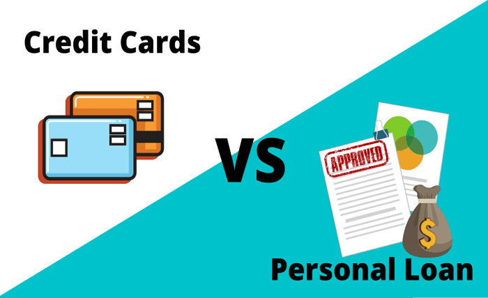 Difference Between a Personal Loan and a Credit Card Loan