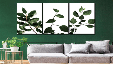 How to mix Living and Nonliving Botanical Wall arts to Create a Fresh Style